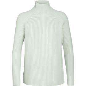 Icebreaker Hillock Tragthals sweater Damer, beige